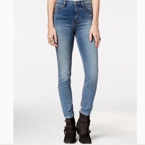 Free People High Rise Skinny Jeans